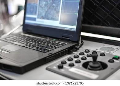 UAV control center, air drone