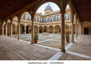 Ubeda Unesco World Heritage. Antique Hospital Santiago building. Jaen, Spain