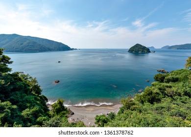 Ubejima (Ube island) in Fukui prefecture, Japan