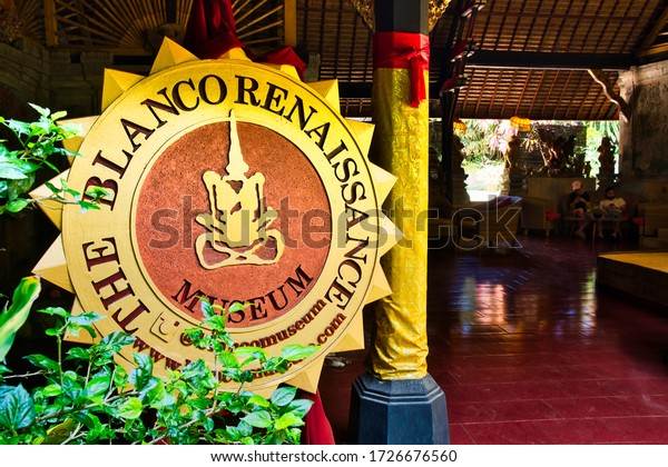Ubud, Bali, Indonesia - January, 2020: Don Antonio Blanco Museum in Ubud, Indonesia.
