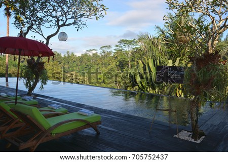 Ubud Bali May 1 Resort Infinity Stock Photo Edit Now 705752437