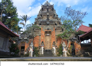 Ubud Palace Puri Saren Agung is the palace of the Ubud royal family, making it one of the most prominent landmarks in Ubud Bali Indonesia.