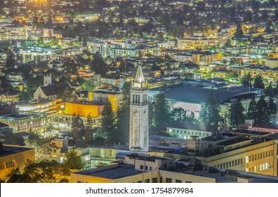 UC Berkeley in the Evening
