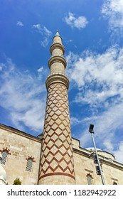 Uc Serefeli Mosque in the center of city of Edirne,  East Thrace, Turkey