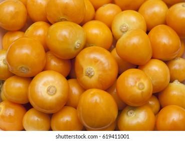 Uchuva (golden berry) delicious fruit