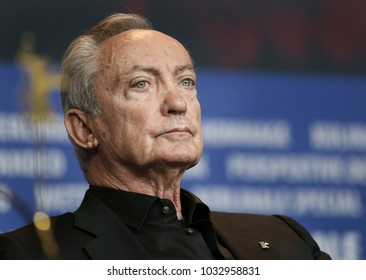 Udo Kier is seen at the 'Don't Worry, He Won't Get Far on Foot' press conference during the 68th Film Festival Berlin at Hyatt Hotel on February 20, 2018 in Berlin, Germany