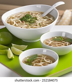 Udon Soup on Tray