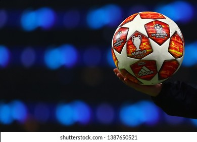 UEFA Champions League Final Official Match Football, Madrid 19 FInal - Tottenham Hotspur v Ajax, UEFA Champions League Semi Final - 1st Leg, Tottenham Hotspur Stadium, London - 30th April 2019