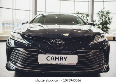 UFA, RUSSIA - 1 MARCH 2018: Toyota Camry new