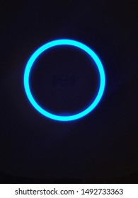 UFO in the form of a luminous circle