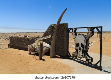 Ugabmund gate at Skeleton Coast National Park, Namibia