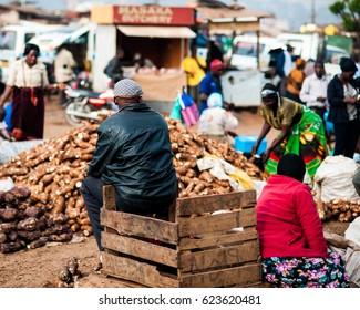 Uganda Nakasero Market
