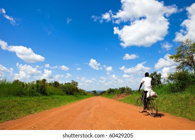 Ugandan road