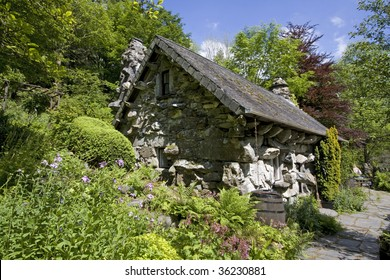 The Ugly House built in one night in the 15th century Capel Curig
