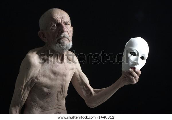 ugly reality and beauty mask