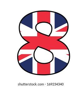 UK Alphabet Illustration - 8