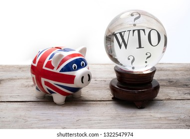 UK brexit WTO concept