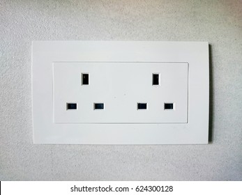 UK British electrical plug socket