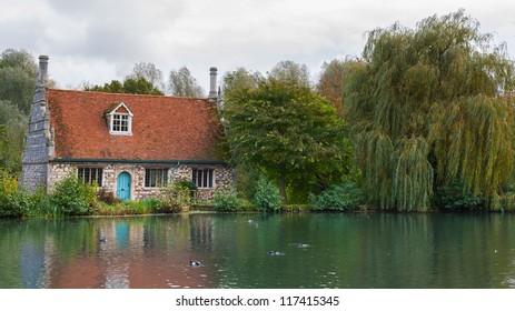 UK countryside Dedham near Colchester Essex