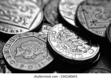 uk currency. money