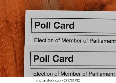 Uk election polling cards