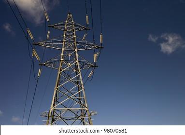 UK Electricity Pylon ( Transmission Tower )