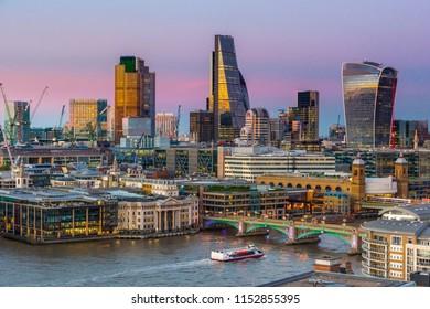 UK, England, London, City of London, Skyline