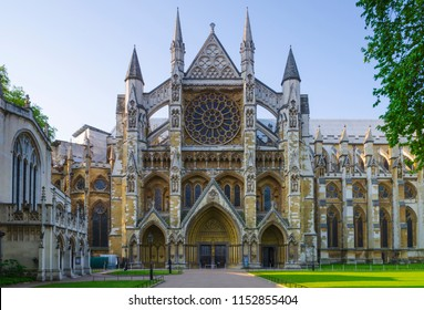 UK, England, London, Westminster Abbey, Great North Door