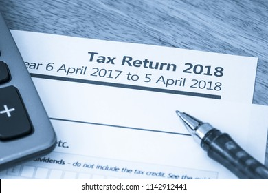 UK HMRC self assessment income tax return form 2018
