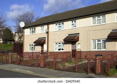 U.K. Inner City State Provided Housing