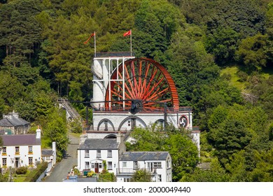 UK - Isle of Man - The laxey wheel (aka lady isabella), the largest working waterwheel in the world