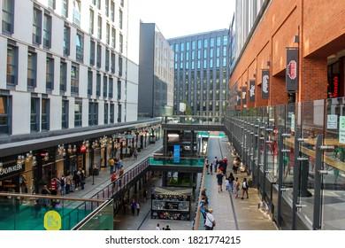 UK / London - 14 September 2020: London Designer Outlet shopping centre, Wembley, north London