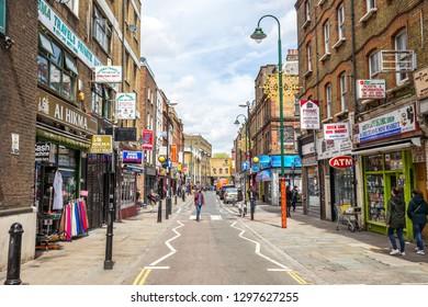 UK, London - May 5, 2018 - Brick Lane in London