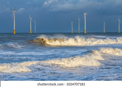 UK Wind Turbine Redcar Electricity Renewable Energy