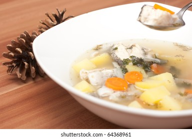 Ukha - Russian fish soup