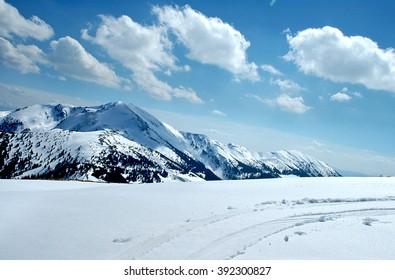 Ukraine, Carpathian Mountains, the ridge Marmarosh