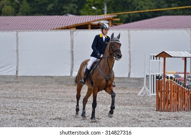 Ukraine Kiev 08.14-15 August.2015.Competitions on overcoming obstacles Open Cup Flying Horse Cup