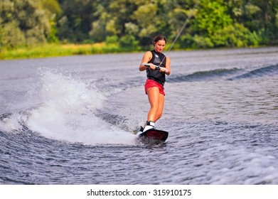 Ukraine. Kiev. competition in wakeboarding, 28-30 September 2015