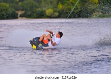 Ukraine. Kiev. competition in wakeboarding, 28-30 September 2015