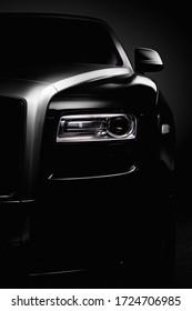 Ukraine, Kyiv - May 5 : Rolls-Royce phantom details