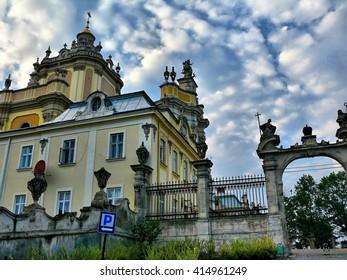 Ukraine. Lviv. Church of St. Jura.