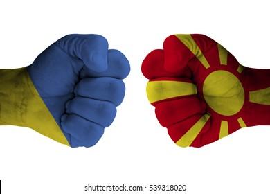 UKRAINE vs MACEDONIA