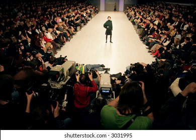 Ukrainian Fashion Week. Kiev, Ukraine, Alta-Expo