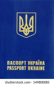 Ukrainian foreign passport.