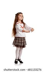 Ukrainian girl dancing
