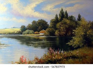 Landscape Painting Images Stock Photos Amp Vectors