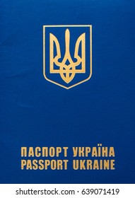 Ukrainian passport for travel abroad
