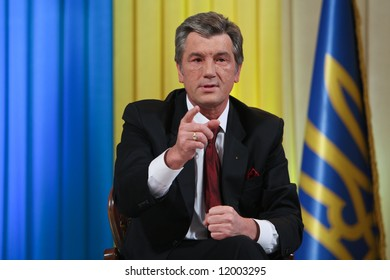 Ukrainian President Victor Yushchenko