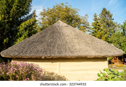 Ukrainian thatched roof