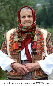 The Old Ukrainian Woman And